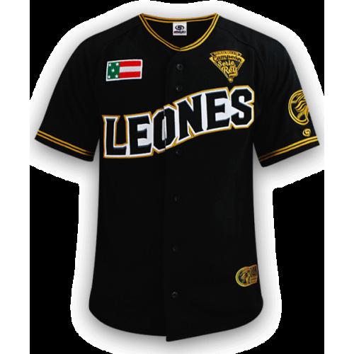 Jersey Caballero Negra 2019 Leones de Yucatán