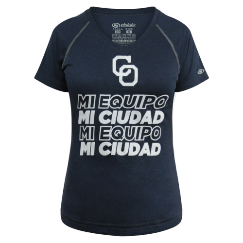 T-Shirt Yaquis Dama MI EQUIPO Mno