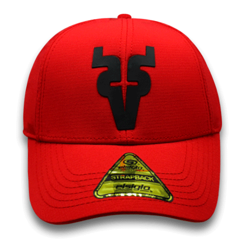 Gorra Venados Velcro rojo 19