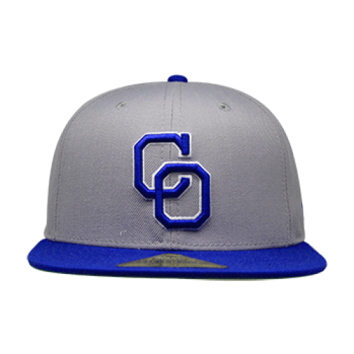Gorra Yaquis Fitted Gris-Royal Temp. 2018-19
