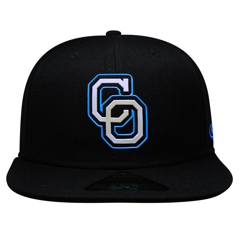 Gorra Yaquis Fitted Negro CO 2020-21