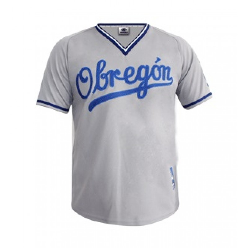 Jersey Caballero Yaquis Gris 2018-19
